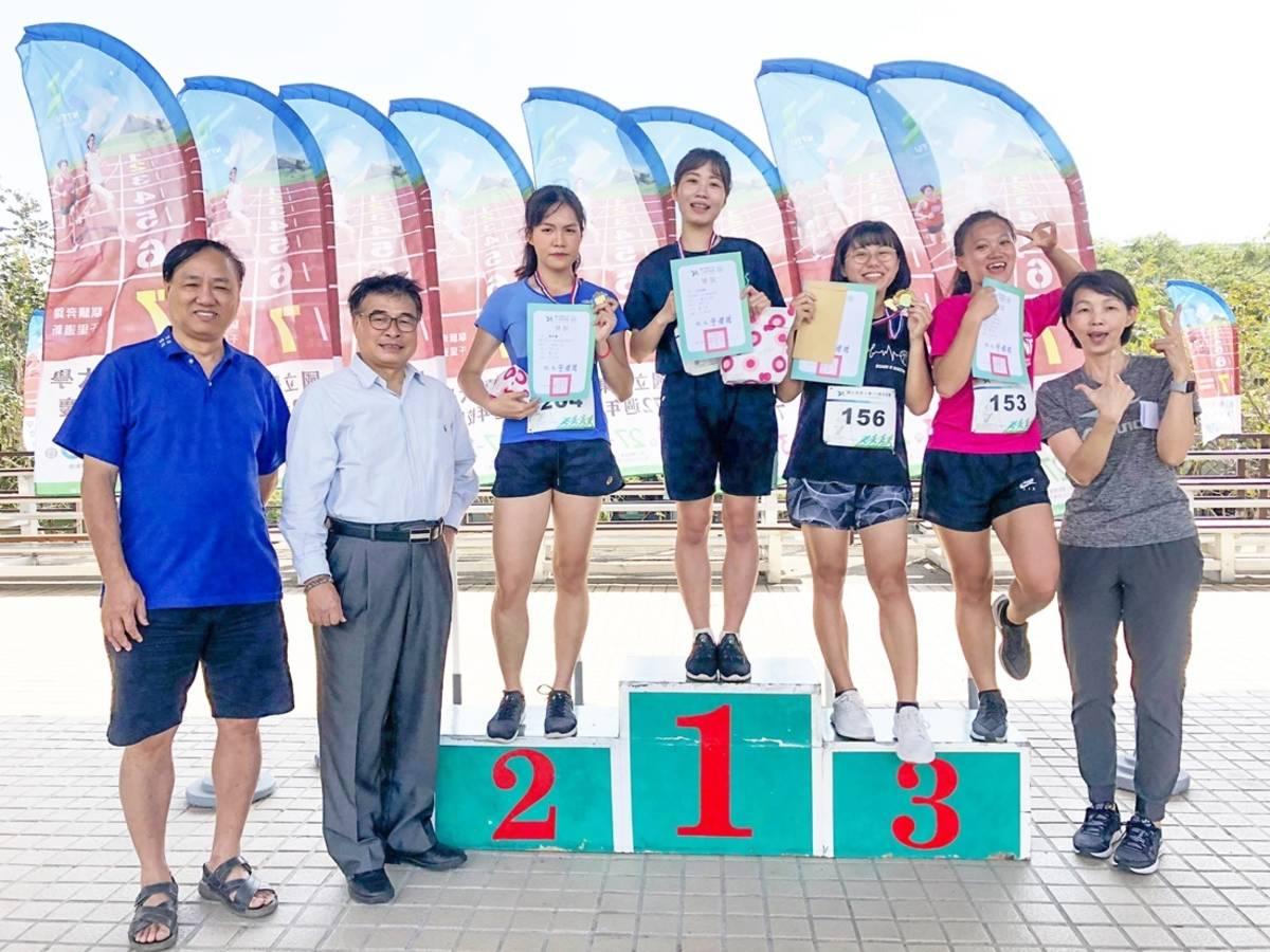 臺東大學72周年校慶運動會取消開幕、頒獎等儀式,僅保留個人決賽賽程,不辜負同學對參與運動會的期盼,也兼顧防疫與運動。